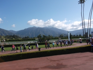 Inside the Santa Anita Race Track!